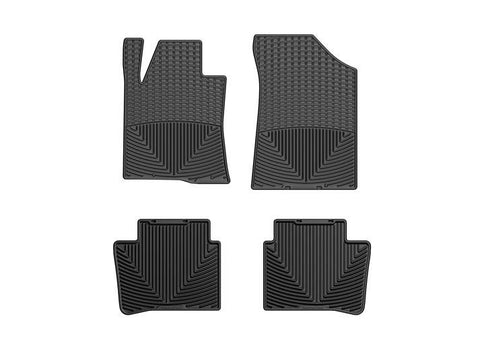 WeatherTech All-Weather Floor Mats for Nissan Altima 2013-2018 Black