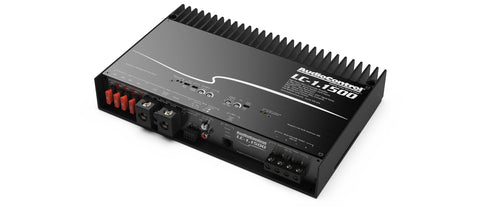 Audio Control LC-1.1500 high-power mono subwoofer amplifier with accubass®
