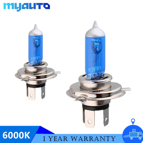Super White Headlight Bulbs  55W 100W 12V