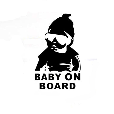 BABY ON BOARD Cool Decal