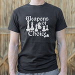 Weapons Of Choice Chess T-Shirt (Mens)
