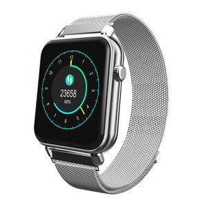 Smartwatch Steel Band - IOS e Android