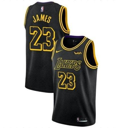 Regata Los Angeles Lakers Preta 19/20 - Lebron James.