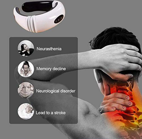neck massager for tension headaches