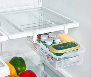 pull-out refrigerator bin