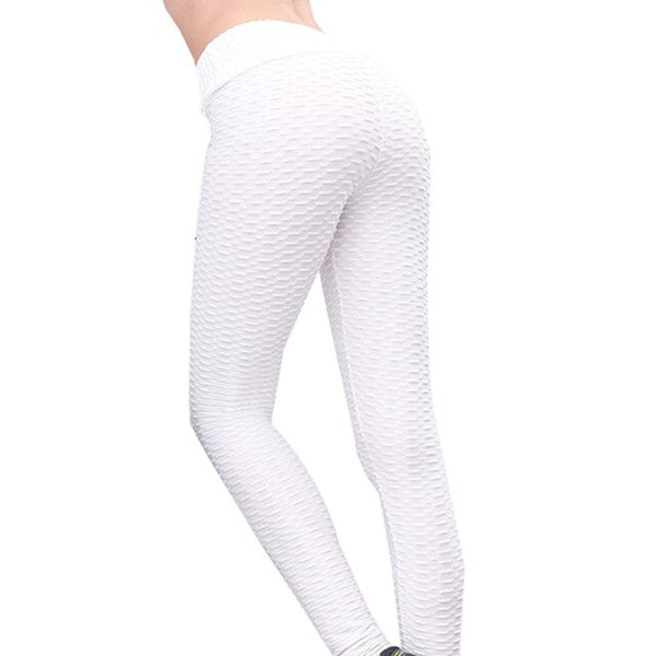 S-XXL Sexy Anti-Cellulite Compression Leggings Slim Fit Butt Lift Elastic Breathable Yoga Pant - Fitness Adicts
