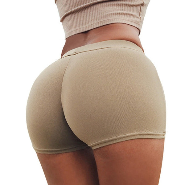 Yoga Shorts Women Sexy Compression Female Fitness Gym Running Shorts for Ladies Sport Athletic Tights Polyester Yoga Shorts - Fitness Adicts