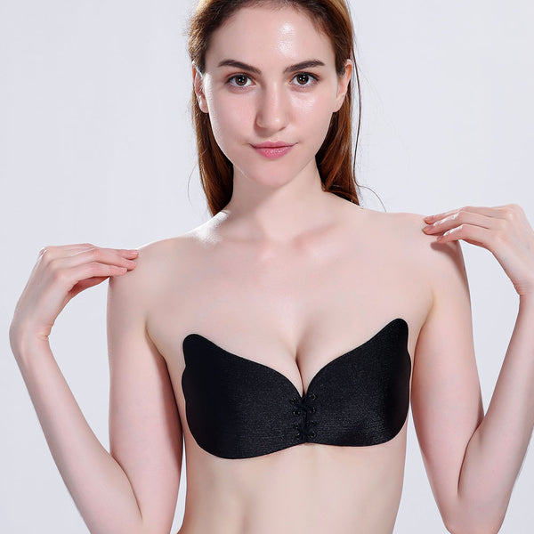 Wings Of The Goddess Instant Breast Lift Invisible Silicone Push Up Bra - Fitness Adicts