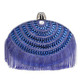 Egg Shaped Tassel Rhinestones Beaded Shoulder bag - Fitness Adicts