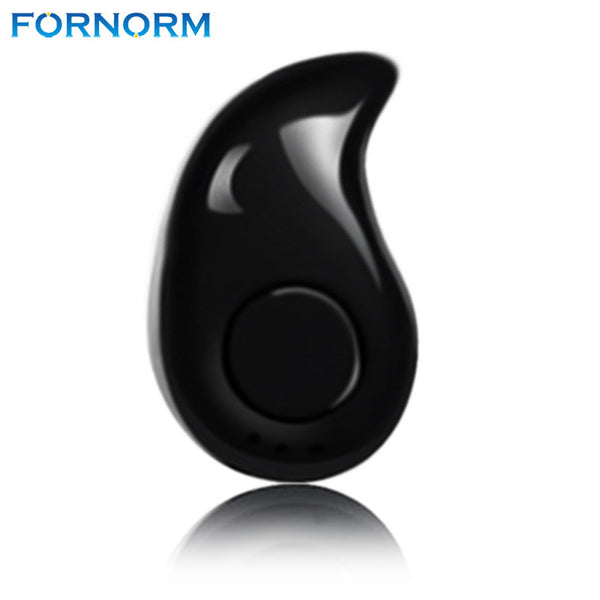 FORNORM Wireless Bluetooth V4.0 Stealth Earpiece Mini Sport Earphone Headset Music Handsfree Voice Prompts For iPhone Android - Fitness Adicts