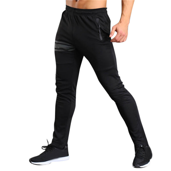Men Long Casual Sport Pants Gym Slim Fit Trousers Running Jogger Gym Sweatpants - Fitness Adicts
