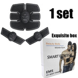 Fitness body building electric muscle abdominal exercise machine - Fitness Adicts