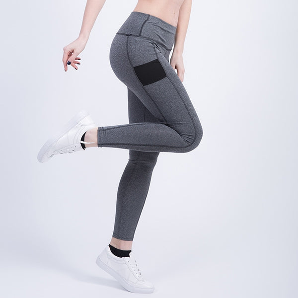 Elastic Yoga  Sport Leggings - Fitness Adicts