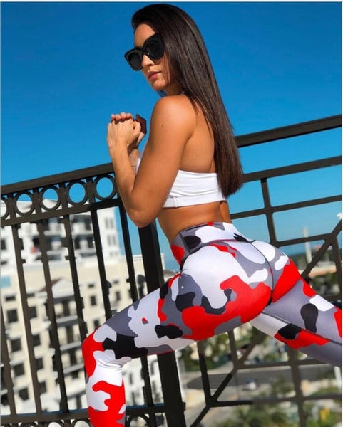 Camouflage Sexy Leggings - Fitness Adicts