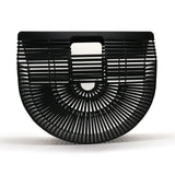 Black Bamboo  Wooden Purses And Handbags - Fitness Adicts