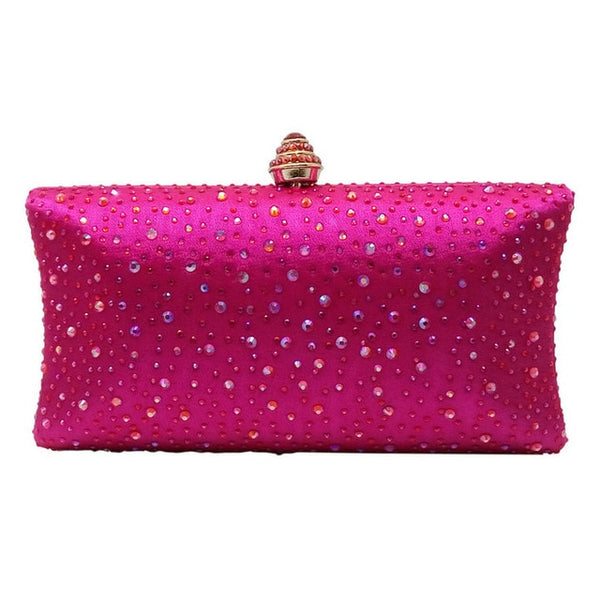 Sparkling Crystal Evening Clutches