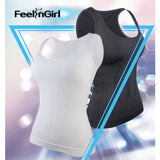Hot Shaper Slim Up Lift Plus Size Bra Cami Tank Top Slimming Vest Corset Shapewear -E - Fitness Adicts