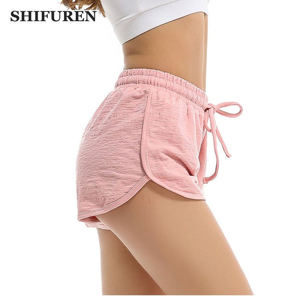 SHIFUREN Summer Sports Yoga Shorts Women Professional Workout Running Shorts Sexy Gym Fitness Bodybuilding Sportswear - Fitness Adicts