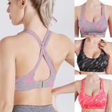 Women Summer Sexy Running Vest Shock Absorption Elastic Shock-proof Sports Bra - Fitness Adicts