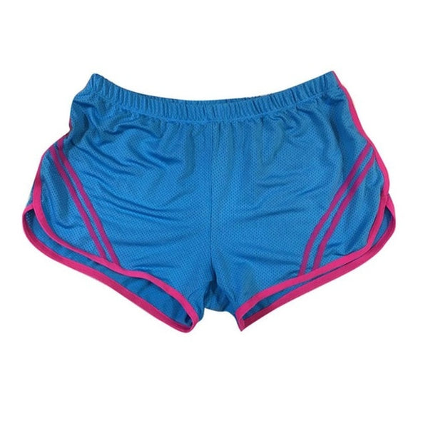 LYP Women Sport Running Shorts Ladies Fitness Solid Gym Short Pants Workout Elastic Sports Female Shorts short sport femme - Fitness Adicts