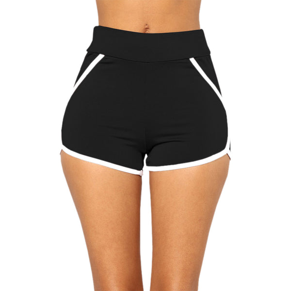 Summer Pants Women Sports Shorts Gym Workout Waistband Yoga Running Shorts - Fitness Adicts