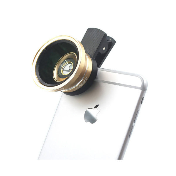Smartphone Camera Lens Clip Kit - Fitness Adicts
