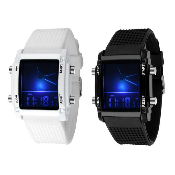 Waterproof Led Colorful Sports Watches - Fitness Adicts