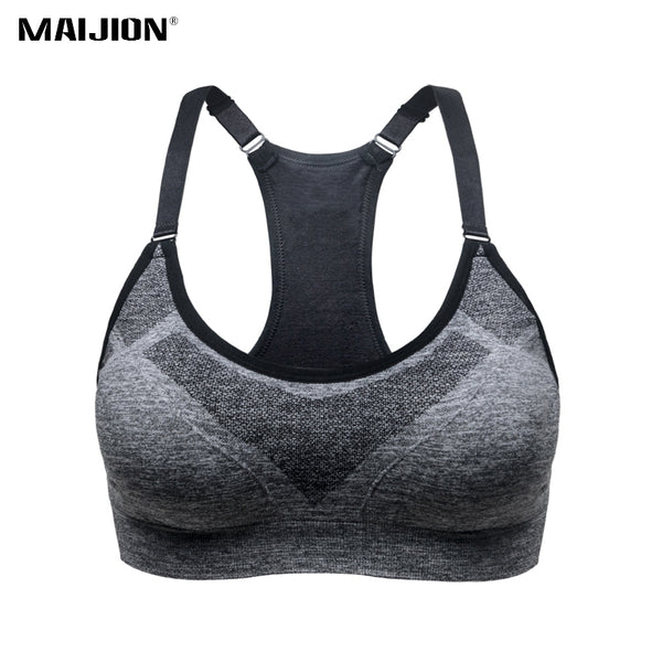Shockproof Sport Bras Professional Yoga Shirts Tops, Seamless Sports Fitness Yoga Running Vest Tank Tops - Fitness Adicts