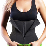3-Buttons Lose Weight Shapewear Yoga Vest Bellycontrol Corset - Fitness Adicts