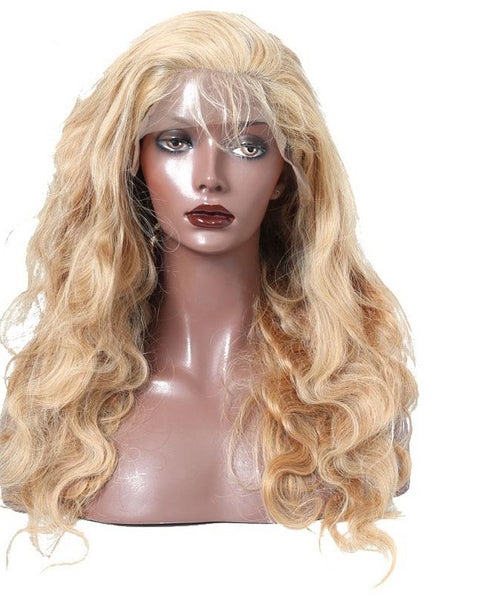 100% Human Hair  Brazilian Body Wave Lace Front Wig Pre Plucked 250% Density - Fitness Adicts
