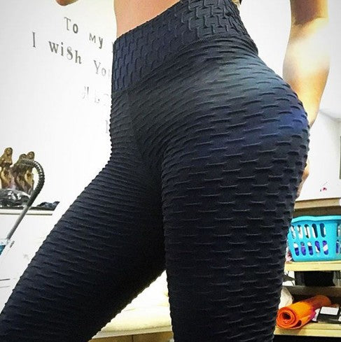 High Waist Anti-Cellulite Hiding Flex Leggings - Fitness Adicts