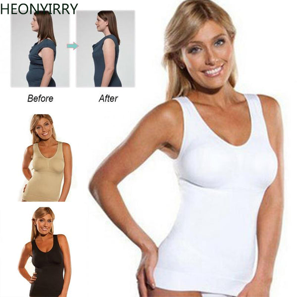 Slimming Vest Women Hot Body Shaper Slim Trainer Slim Up Lift Plus Size Bra Cami Tank Top - Fitness Adicts