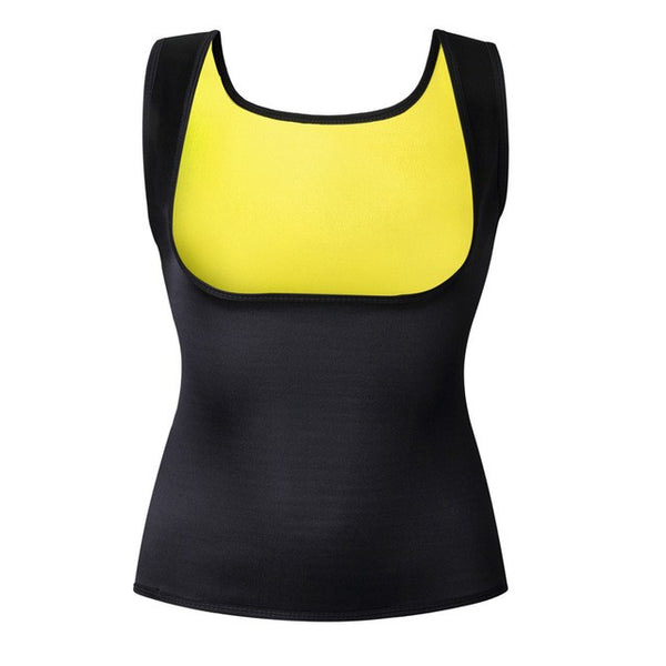 Neoprene Hot Shapers Vest Body Shaper Waist Trainers - Fitness Adicts