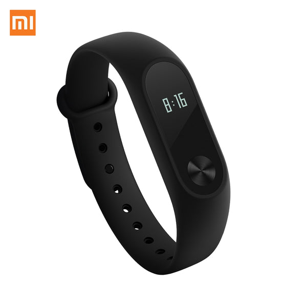 Mi Fitness Tracker, Xiaomi Band 2 Bluetooth 4.0 Smart Heart Rate Monitor IP67 Water-Resistant Wristband Watch With OLED Display - Fitness Adicts