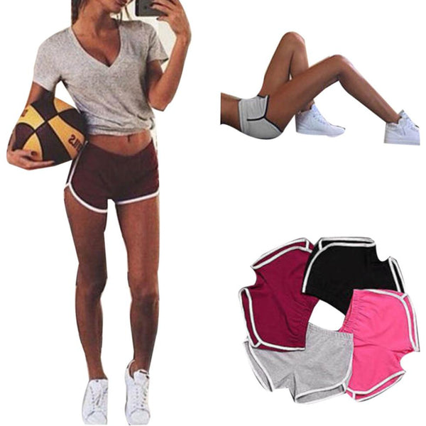 Womail 2019 New Summer Women Sports Shorts Gym Workout Waistband Skinny Yoga Short Workout Running sport leggings S-XL - Fitness Adicts