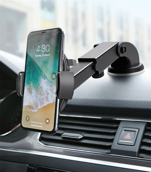 Windshield Mount Car Phone Holder For Phone in Car - Fitness Adicts