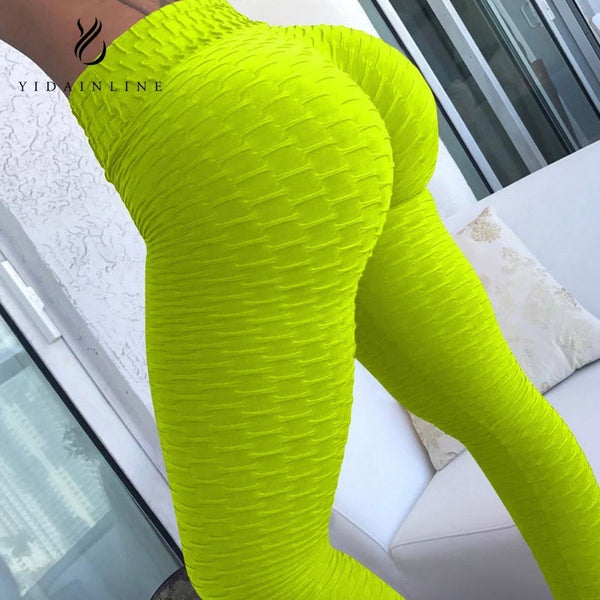 New Design Fitness Workout Leggings Women 3 Color Sexy Elastic Push Up Leggings Sportswear Sporting 2018 Summer - Fitness Adicts