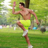 Sports Running Shorts Pants Quick Dry Breathable Workout Bodybuilding Men - Fitness Adicts