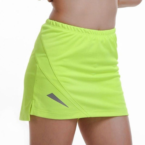 Women's Sports GYM Fitness Running Yoga Jogging Shorts Women Tennis Shorts Skirt Anti Exposure Tennis Skirt Shorts #19 - Fitness Adicts