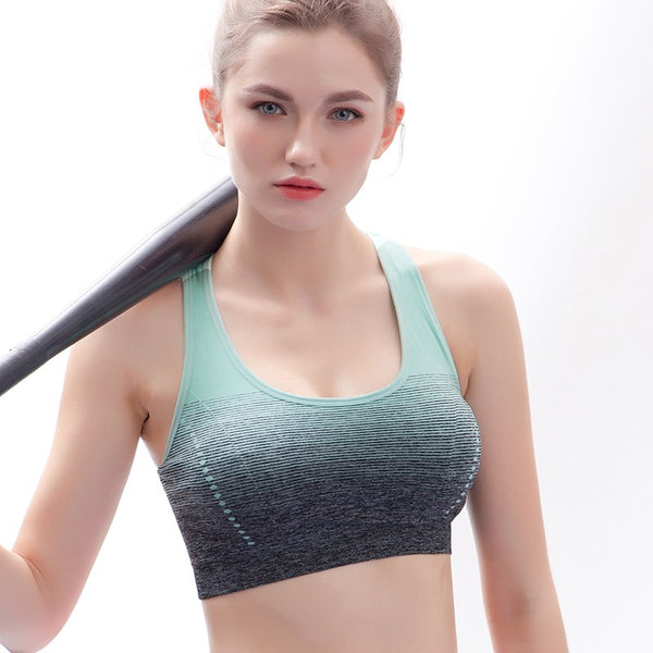 Women Fshion Seamless Sports bra - Fitness Adicts