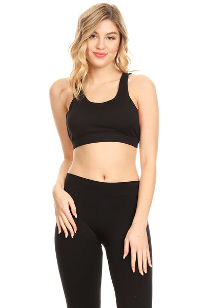 Women's Ultra Soft Sports Bra - Fitness Adicts