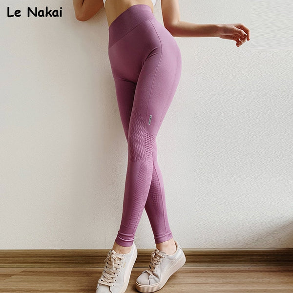 Anti-cellulite Compression Seamless Leggings High Waisted - Fitness Adicts