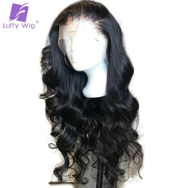 100% Human Hair Big 5x4.5 Full Lace Silk Base Wigs with Baby Hair Pre Plucked Hairline Previan - Fitness Adicts