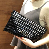 Diamond Rhinestone Clutch Crystal Wedding Purse Party - Fitness Adicts