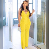 2019 Wide leg Rompers Fashion Style  Summer color clothes for women african clothes robe africaine womens clothing Sexy - Fitness Adicts