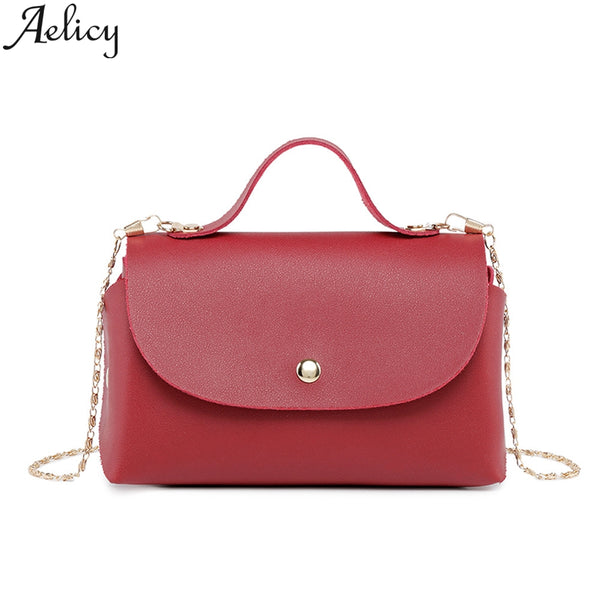 Red Pu leather  multifunctional Purse - Fitness Adicts