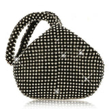 High Quality Fabric+Rhinestone Triangle Glitter Luxury Handbag Clutch - Fitness Adicts