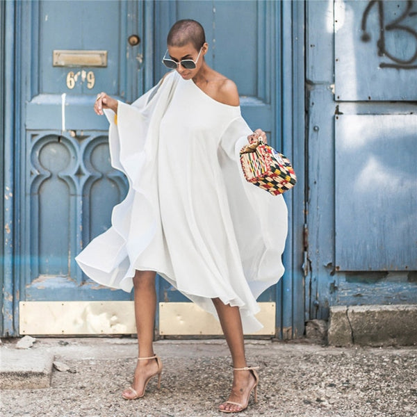 AFRICAN DRESSES casual loose dress - Fitness Adicts