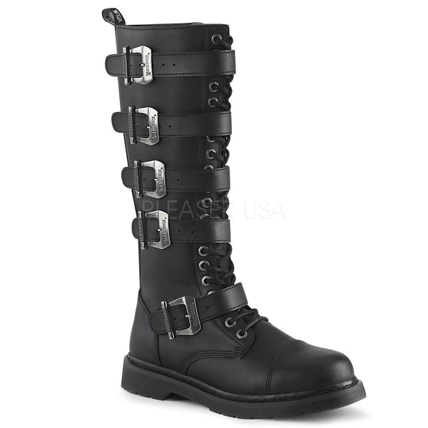 BOLT-425 Black Vegan Leather