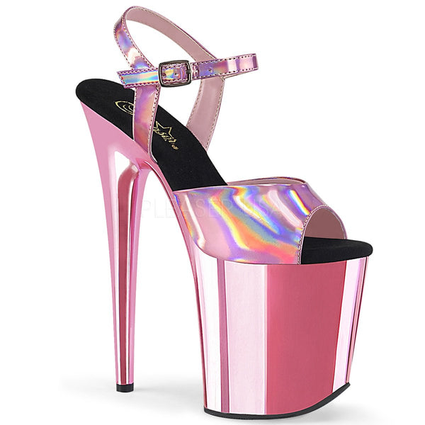 FLAMINGO-809HG Baby Pink Hologram/Baby Pink Chrome